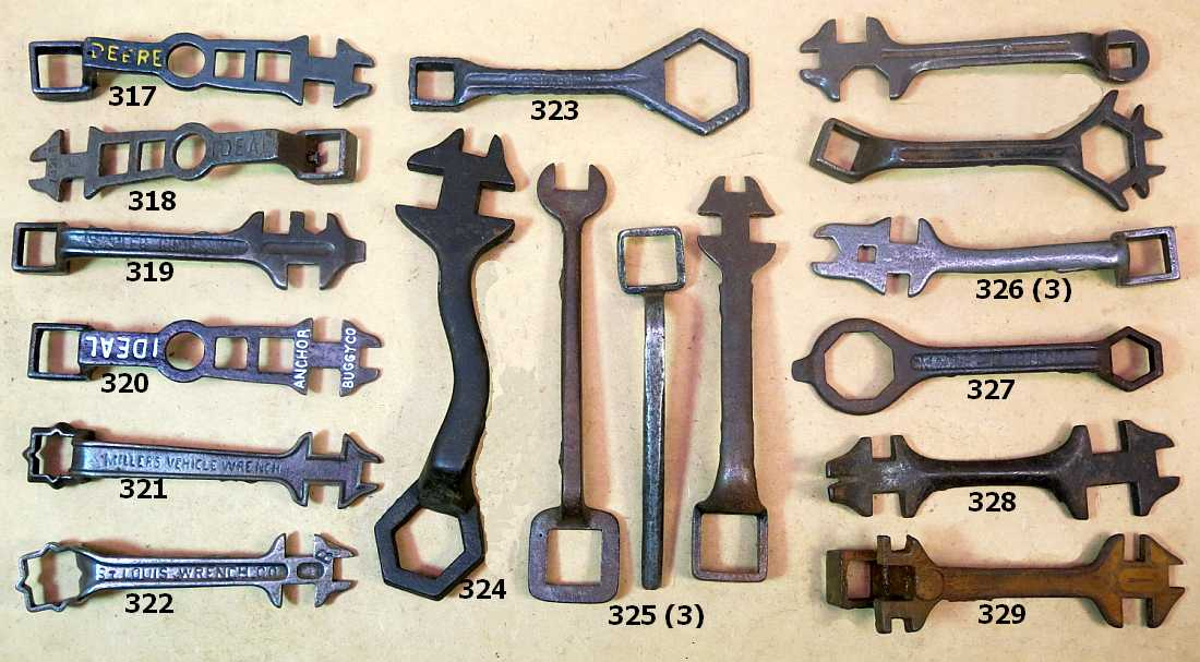 Fall 2016 Wrenching News Auction -  - Rare cutout wrenches