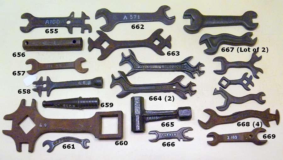 2019 Wrenching News Spring Antique Wrench Auction - York, Nebraska