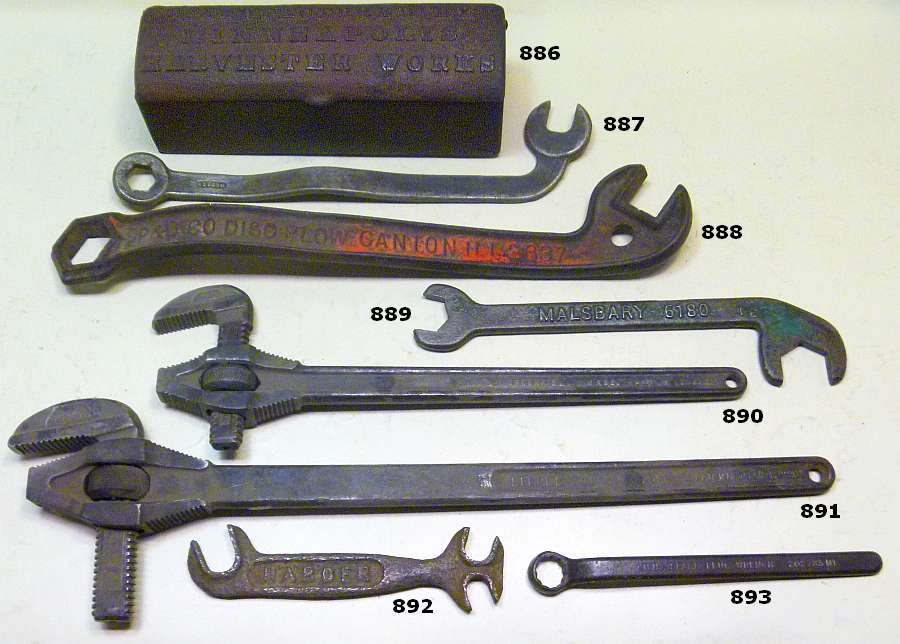 2019 Wrenching News Spring Antique Wrench Auction - York